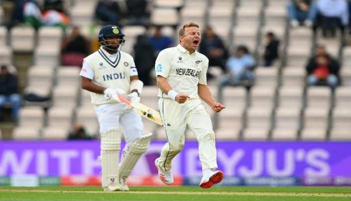 IND vs NZ WTC Final Live Score: न्यूजीलैंड की शानदार वापसी, लंच तक निपटा दिेए भारत के 7 विकेट