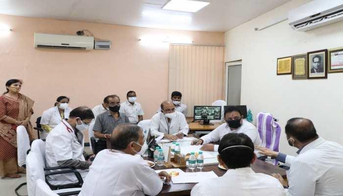 कोविड की तीसरी लहर से पूर्व शिशु अस्पतालों में चिकित्सा सुविधा मजबूत कर रही सरकार: रघु शर्मा
