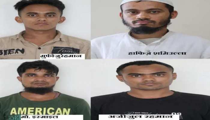 Operation Success: UP ATS ଜାଲରେ ଫସିଲେ ୪ Rohingya ଅନୁପ୍ରବେଶକାରୀ, କରୁଛନ୍ତି Black Money କାରବାର