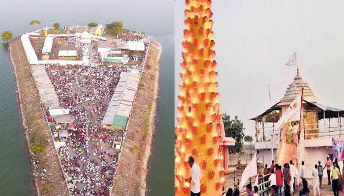 जल्द ही मध्यप्रदेश के इस धाम में मिलेगी शिर्डी जैसी सुविधा, टापू पर बसा है मंदिर