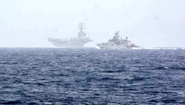 भारत-अमेरिका ने शुरू किया युद्ध अभ्यास, हिंद महासागर में दिखी सेना की ताकत