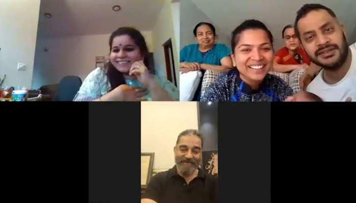 Kamal Haasan ने ब्रेन कैंसर से जूझ रहे फैन को किया वीडियो कॉल, दिया जीने का हौसला
