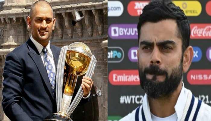 भारत को फिर से ICC टूर्नामेंट में हारते देख लोगों को आई MS Dhoni की याद, कोहली को जमकर लगी फटकार