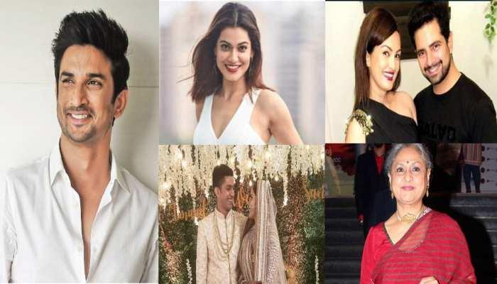 Entertainment Capsule top 5 news of film and tv industry jaya bacchan payal rohatagi sushant rajput uppm