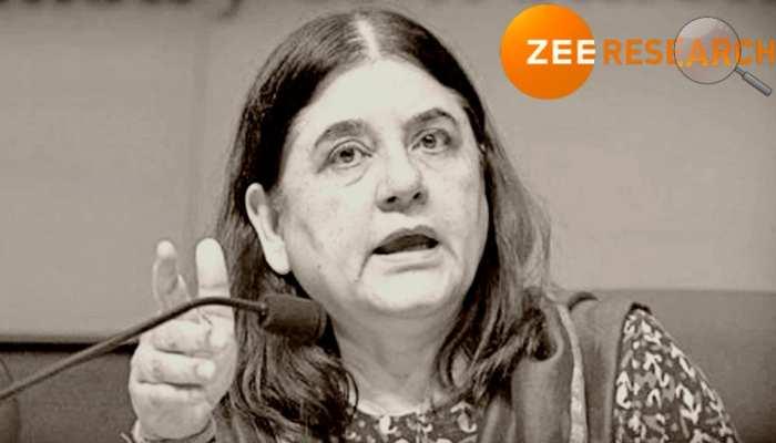 'तुम्हारे पिता माली हैं या चौकीदार?' वो 8 बयान, जब BJP सांसद मेनका गांधी आईं विवादों में