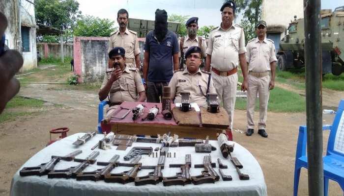 Bihar News: मुंगेर में हथियार तस्करी का बड़ा खुलासा, जखीरा बरामद