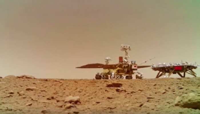 China ने अंतरिक्ष में दिखाई अपनी ताकत, जारी किए Mars Planet पर लैंडिग के 4 वीडियो