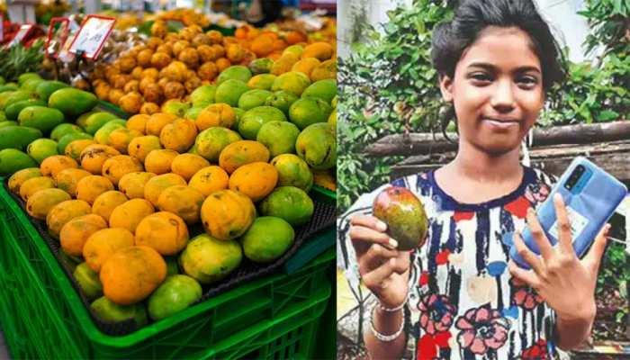 11 साल की लड़की को पढ़ाई के लिए चाहिए था स्मार्टफोन, 11 आम बेचकर जुटाए 1.2 लाख रुपये, जानें कैसे