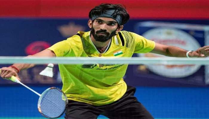 भारतीय बैडमिंटन संघ ने 'खेल रत्न' अवार्ड के लिए के श्रीकांत समेत इस खिलाड़ी का भेजा नाम