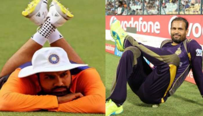 List of most lazy and lethargic cricketers in the world rohit sharma yusuf pathan