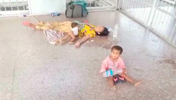 रेलवे ब्रिज पर बेहोश पड़ी थी महिला, अबोध बच्ची ने यूं बचाई मां और 6 महीने के भाई की जान