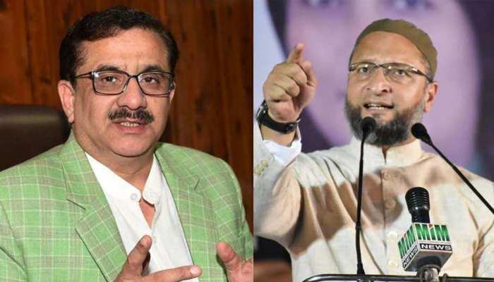 वसीम रिज़वी का एक और विवादित बयान, ओवैसी को बताया भारत का बग़दादी