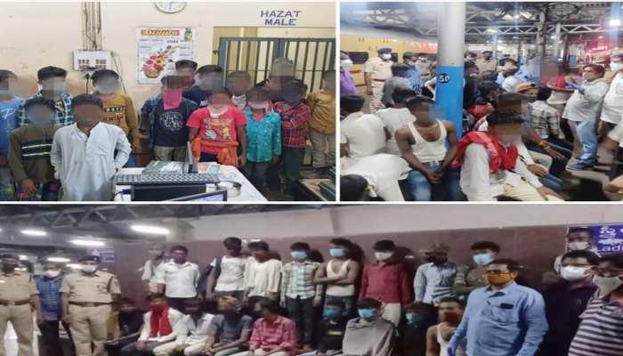 भोपाल में 30 बच्चों का रेस्क्यू किया, बिहार से मदरसे में पढ़ने के नाम पर लाए गए थे