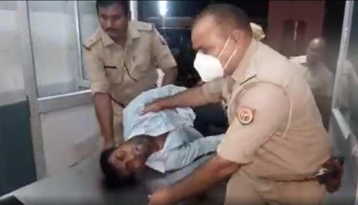 चंदौली पुलिस को मिली बड़ी सफलता, कस्टडी से फरार बदमाश को मुठभेड़ के बाद किया गिरफ्तार