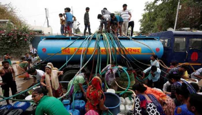दिल्ली की जनता ही नहीं, पानी को तरस रहे हैं दूतावास और राष्ट्रपति-प्रधानमंत्री आवास