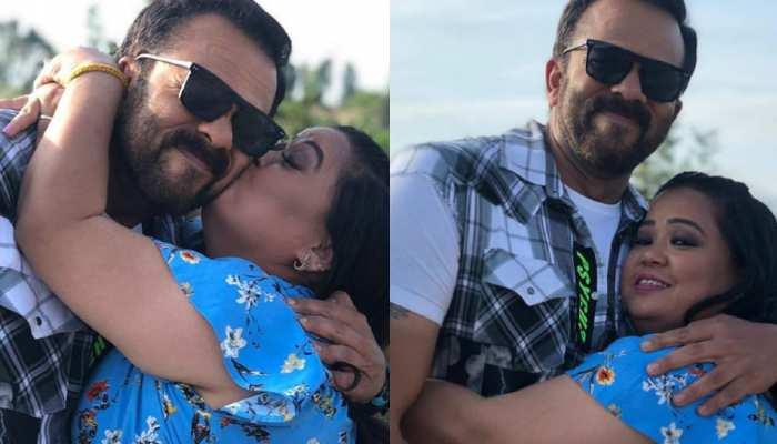 Rohit Shetty ने दी Bharti को भयानक मुंह दिखाई, डर के मारे पति के ऊपर ही गिरीं कॉमेडी स्टार