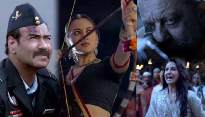 Bhuj: The Pride Of India: दमदार डायलॉग से Ajay Devgn - Sanjay Dutt खड़े कर देंगे रोंगटे, देखें शानदार Trailer