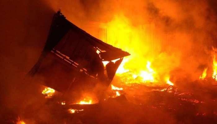 इराक में कोरोना अस्पताल में ऑक्सीजन टैंक में धमाका, 40 से ज्यादा लोगों की मौत