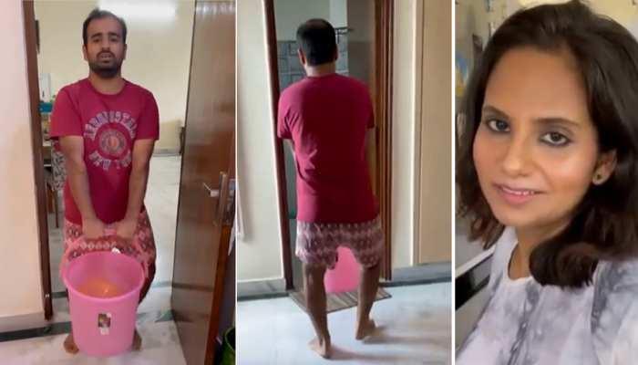 Video: गर्लफ्रेंड से बीवी बनी तो कुछ ऐसा दिखा देसी अंदाज, पति का हुआ बुरा हाल