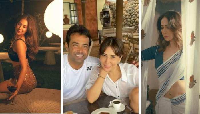 after divorced and breakup with yuvraj singh harvardhan rane kim sharma dating tennis star leander paes