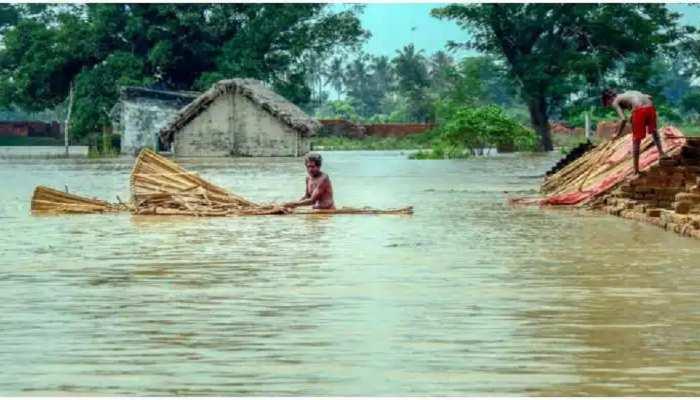 Bihar: मुजफ्फरपुर से लेकर खगड़िया तक में बाढ़ का तांडव, उफान पर गंडक व बूढ़ी गंडक