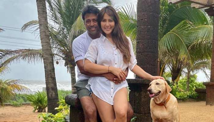 Leander Paes की बाहों में नजर आईं मोहब्बतें फेम हसीना Kim Sharma, डेटिंग को लेकर उठे सवाल