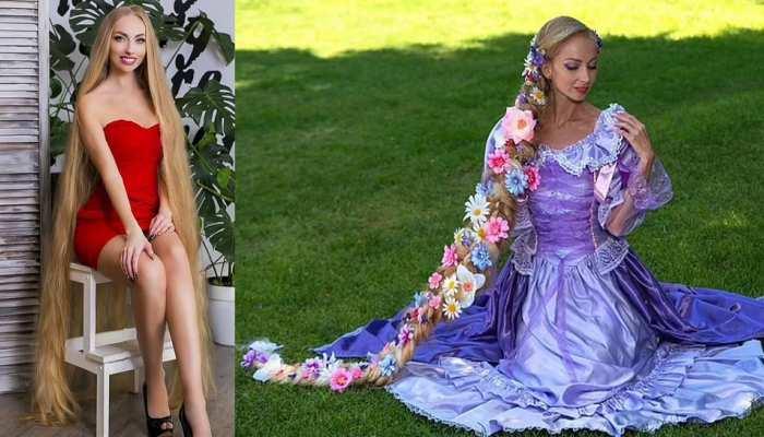 Real-life Rapunzel from Ukraine, Model Alena Kravchenko to flaunt her two metre-long hair