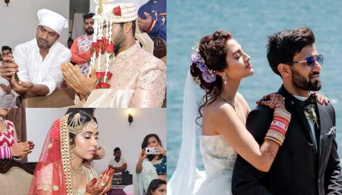 शादी में क्रिकेटर Shivam Dube को दुआ मांगते देख भड़के फैंस, पूछा- 'Nusrat Jahan याद है?'