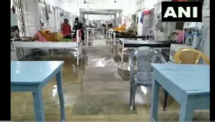 देखें वीडियो: भारी बारिश के बाद पटना हुआ जलमग्न, NMCH अस्पताल के वार्ड में घुसा पानी