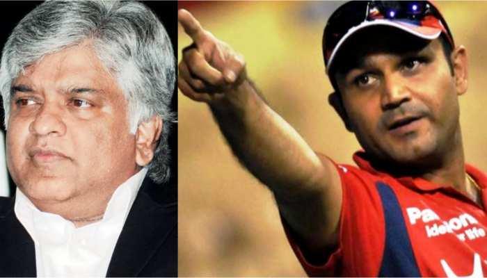 IND vs SL: सहवाग ने श्रीलंकाई दिग्गज को दिया मुंहतोड़ जवाब, टीम इंडिया का उड़ाया था मजाक