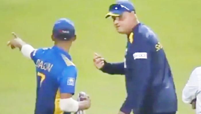 Video: भारत से हार का Side Effect, बीच मैदान पर भिड़ गए श्रीलंका के कोच और कप्तान