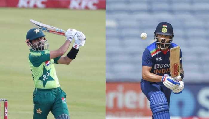 Virat Kohli और Babar Azam में कौन हैं बेहतर बल्लेबाज? Shoaib Akhtar ने किया ये दावा