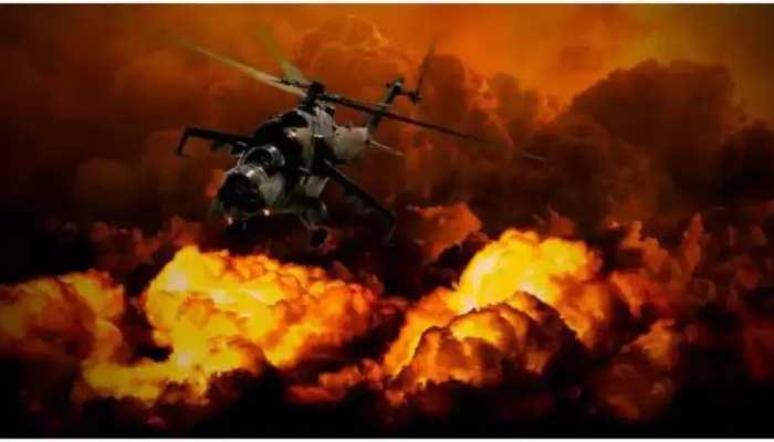 US ବିମାନ ଆକ୍ରମଣରେ ଥରହର Afghan; ମାଟିରେ ମିଶିଗଲା Taliban Terror Camp
