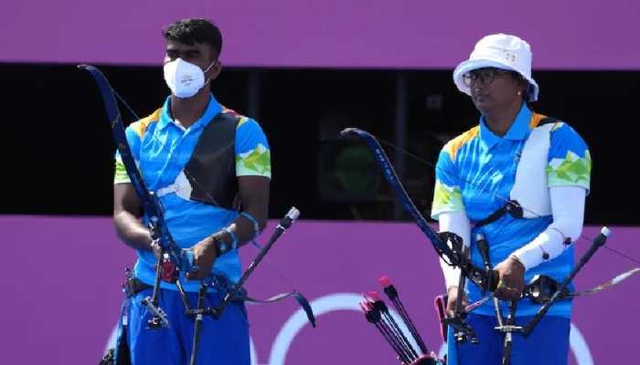 Tokyo Olympic: भारत की उम्मीदों को बड़ा झटका, क्वार्टरफाइनल में हारी दीपिका- प्रवीण की जोड़ी