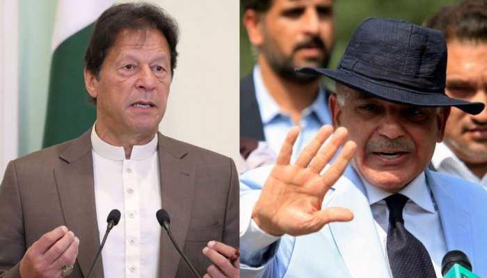 Shehbaz Sharif attacks PM Imran Khan for his Kashmir referendum proposal see images pakistan latest news
