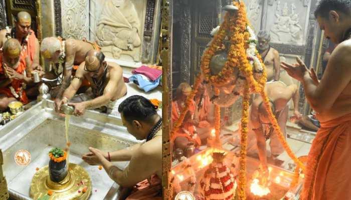 Sawan 2021: काशी विश्वनाथ मंदिर में बड़ी संख्या में पहुंच रहे शिव भक्त, इलेक्ट्रॉनिक डिवाइस के साथ प्रवेश पर है प्रतिबंध