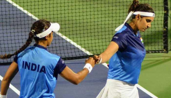 Tokyo Olympics: Sania Mirza-Ankita Raina की जोड़ी ने किया निराश, पहले ही मैच में मिली करारी शिकस्त