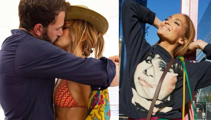 Jennifer Lopez-Ben Affleck officially announced their relationship with a liplock photo