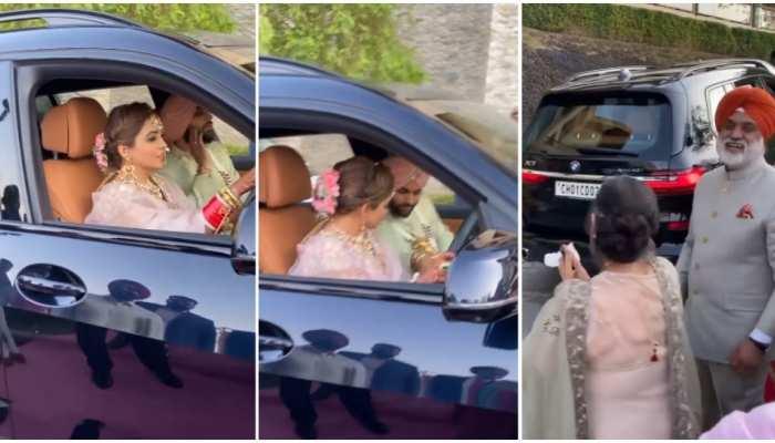Viral Video: खुद गाड़ी चलाकर ससुराल पहुंची पंजाबी दुल्हन, लाखों लोगों ने की तारीफ