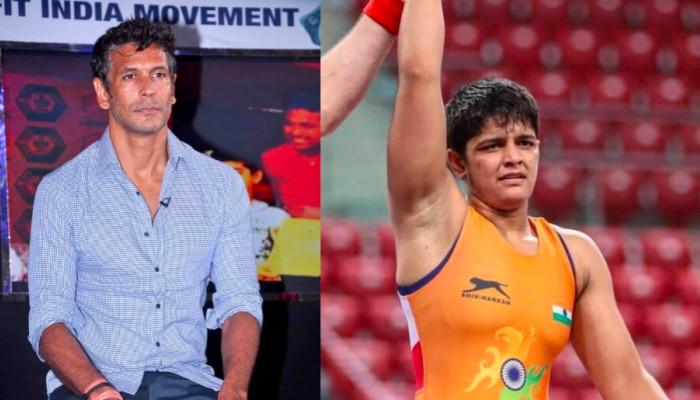 मिलिंद सोमन ने ऐसे दी प्रिया मलिक को गोल्ड मेडल जीतने की बधाई, हो गए बुरी तरह ट्रोल