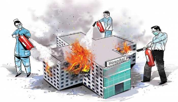 बदइंतजामी से जूझ रहे हैं बिहार के अस्पताल, आग लगी की घटना से हो सकता है बड़ा हादसा