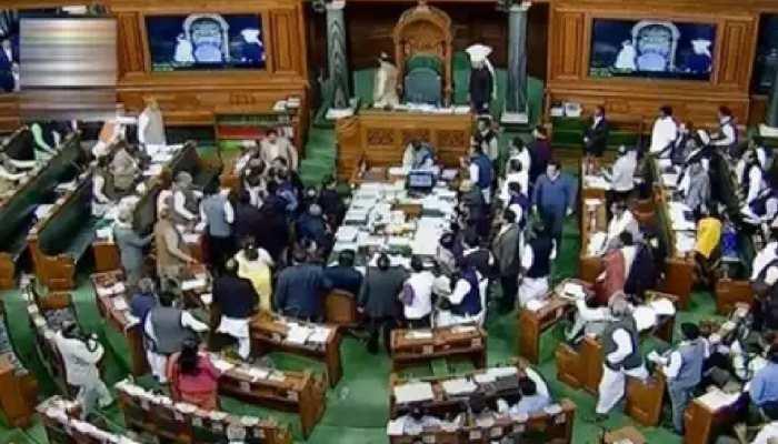 4 घंटे तक लोक सभा में धरने पर बैठे रहे कांग्रेस के दो सांसद, नए कृषि कानूनों को रद्द करने की मांग