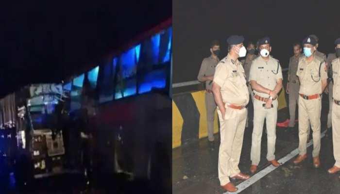 Uttar Pradesh: Barabanki में भीषण सड़क हादसा, ट्रक और बस की जोरदार टक्कर में 18 लोगों की मौत