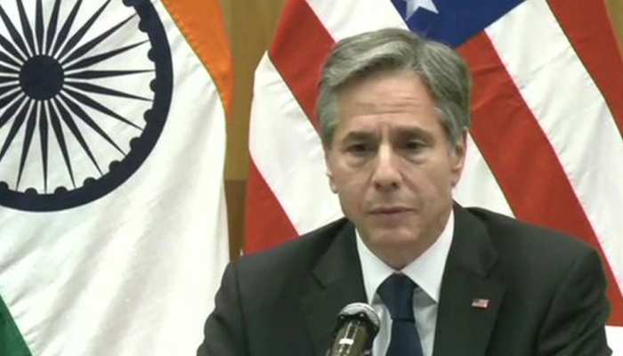 सभी को अपनी सरकार में राय देने का और सम्मान पाने का हक: अमेरिकी विदेश मंत्री