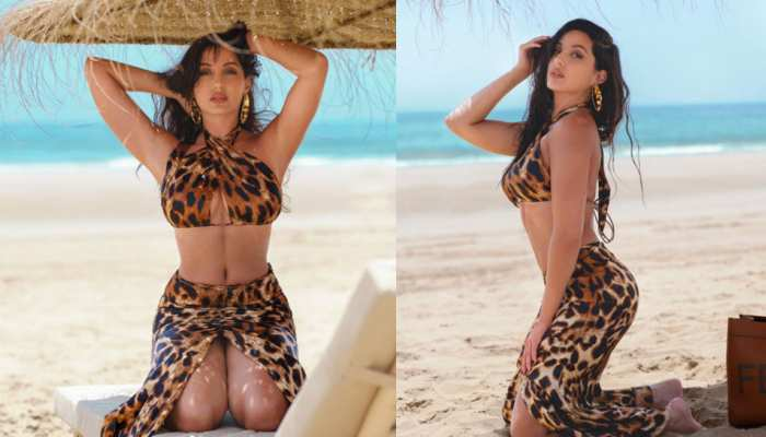 Nora Fatehi Sea Side Photoshoot in Short Dress Made Fans go Crazy over Internet