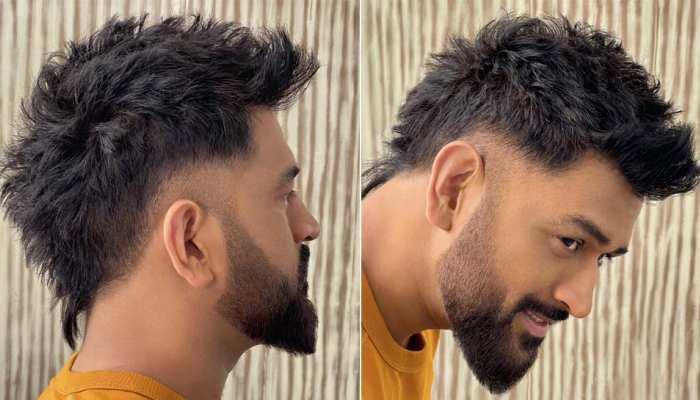 देखिए MS Dhoni का नया Hairstyle, सोशल मीडिया पर खूब किया जा रहा पसंद