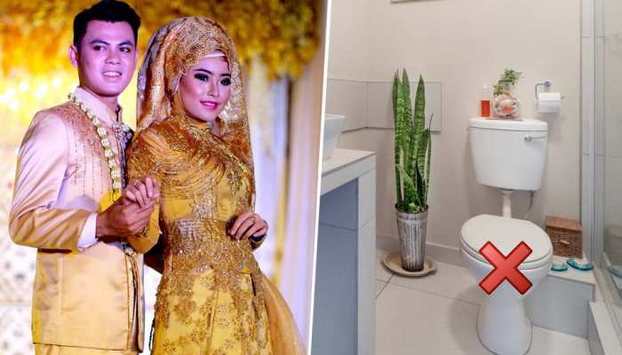 Tidong Community: Bride And Groom Are Not Allowed To Use Toilet for 3 days after Marriage
