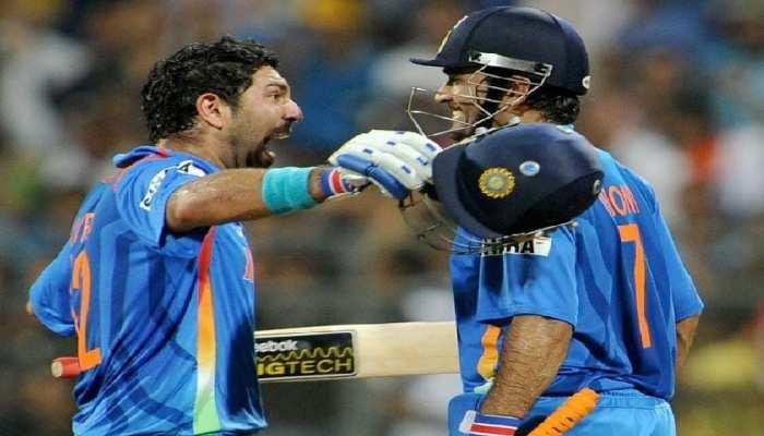 जब सभी गिले-शिकवे भूलाकर क्रिकेट के मैदान में एक हुए युवी-धोनी, छुड़ा दिए थे गेंदबाजों के छक्के
