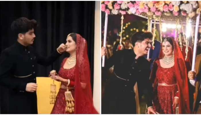 Wedding Video: Priyanka Chopra जैसे लहंगे में दिखे दुल्हन के जलवे, शादी में की भाई के साथ मस्ती