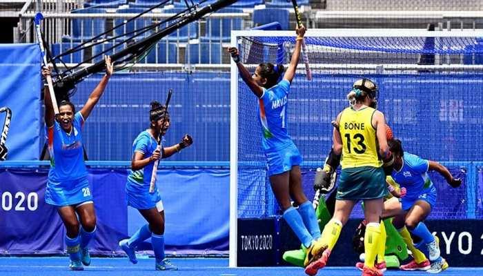 Indian Women's Hockey Team ने रचा इतिहास, पहली बार मिला Olympics के सेमीफाइनल का टिकट